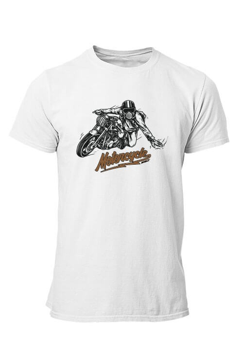 T-shirt Motorcycle Legend manches courtes