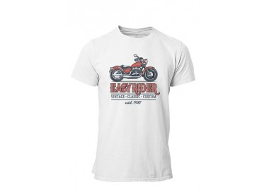 T-shirt Easy Rider manches courtes