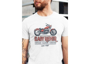 T-shirt Easy Rider manches courtes (modèle taille M)