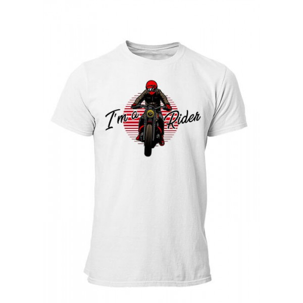 T-shirt I'm a rider manches courtes