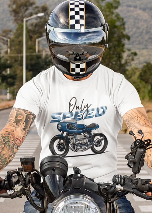 T-shirt Only Speed manches courtes (modèle taille M)