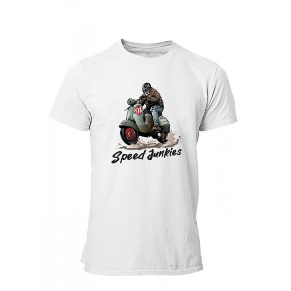 T-shirt Speed Junkies manches courtes