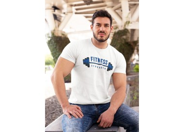 Tee shirt Fitness strength (modèle taille M)