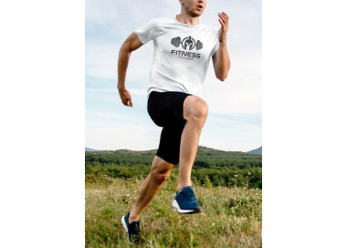 Tee shirt Work it training Homme manches courtes (modèle taille S)