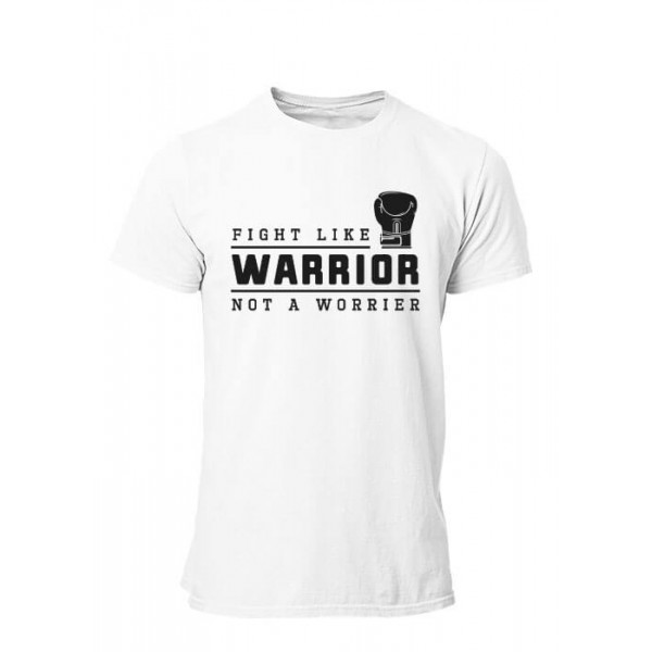 Tee shirt Boxe Warrior Homme manches courtes