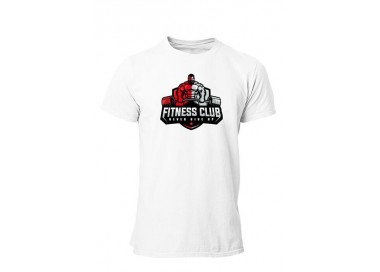 Tee shirt Never give up fitness Homme manches courtes