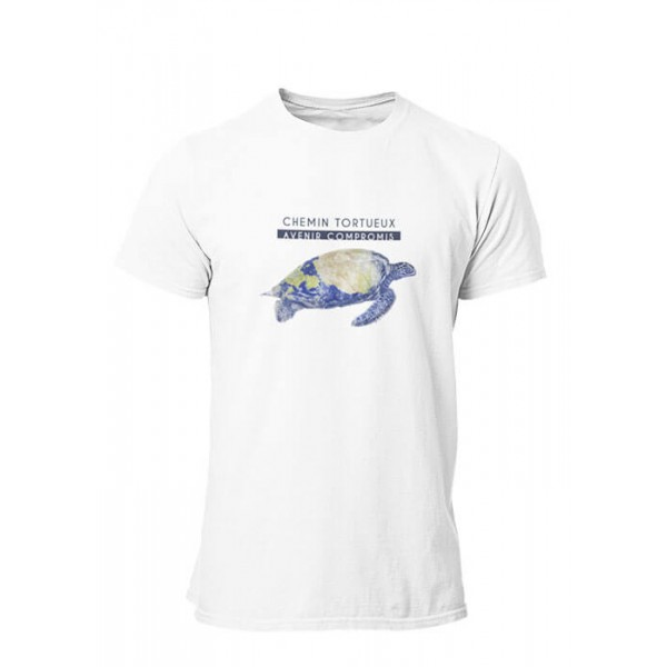 T-shirt Chemin tortueux Homme manches courtes